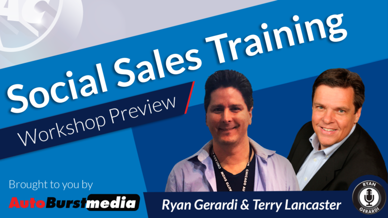 Social Sales Training Workshop for Auto Retail Pros