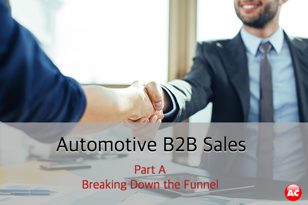 Breaking Down the Automotive B2B Sales Funnel