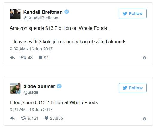 Amazon Tweets