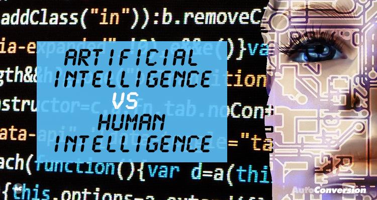 artificial intelligence vs human