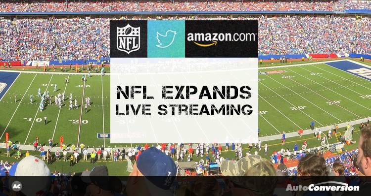 nfl expands live streaming
