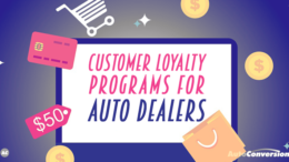 Customer Loyalty for Auto Retailers