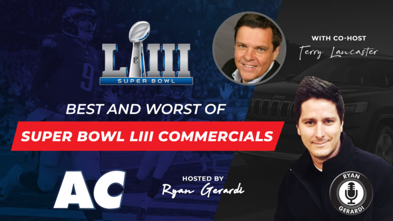Review of Super Bowl 2019 Commercials