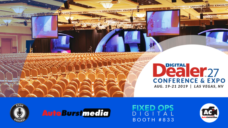 AutoConversion Partners with Fixed Ops Digital for 27th Digital Dealer Conference