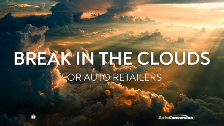 Break in the Clouds for Auto Retailers