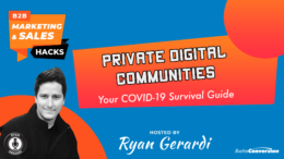 Private Digital Communities