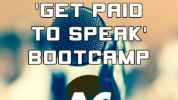 Robb Holman's Get Paid to Speak Bootcamp