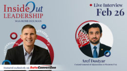 Aref Dostyar on Inside Out Leadership with Robb Holman